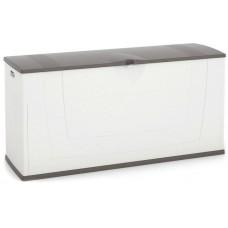 Μπαούλο Πλαστικό Λευκό - Γκρι 197lt Karisma Keter 119x40x59υψ 26.20050