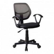 Πολυθρόνα Γραφείου Mesh Μαύρο.BF2740 Woodwell 52x49x81/91υψ 20299 ΕΟ526,1